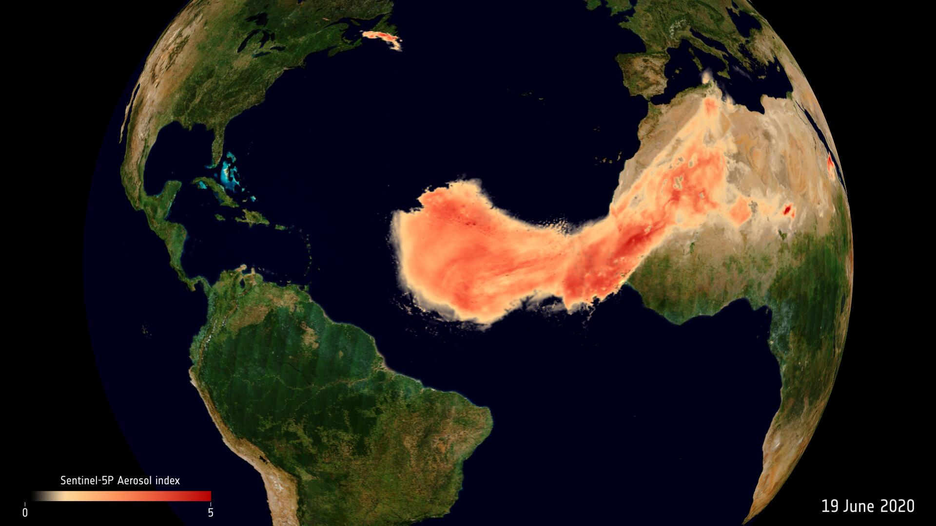 Bild zu Saharastaub