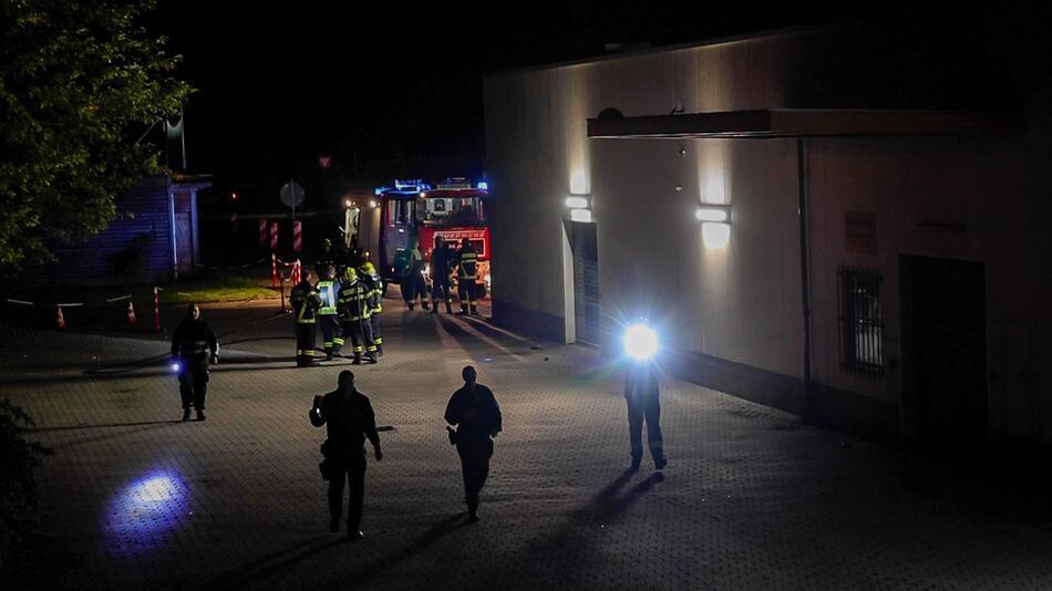 Brandanschlag auf Impfzentrum in Sachsen