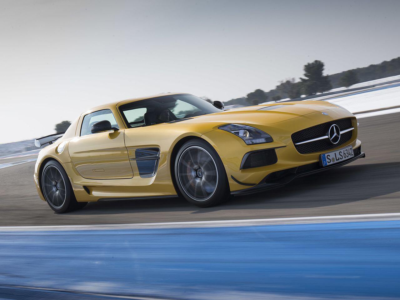 Bild zu Mercedes SLS AMG Black Series