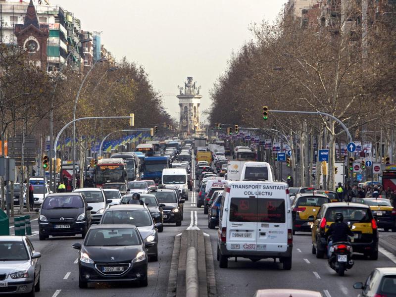 Bild zu Verkehr in Barcelona