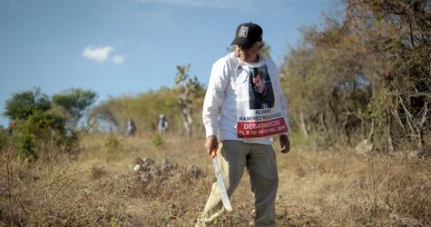 Suche nach verborgenen Gräbern in Mexiko