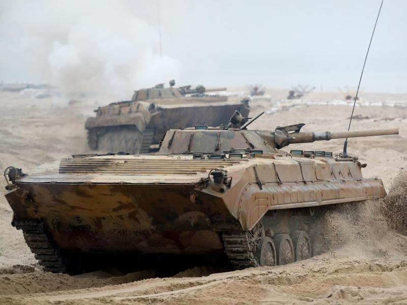 Bild zu Polnischer Panzer