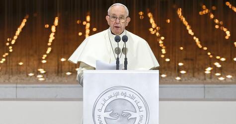 Papst besucht die Vereinigten Arabischen Emirate