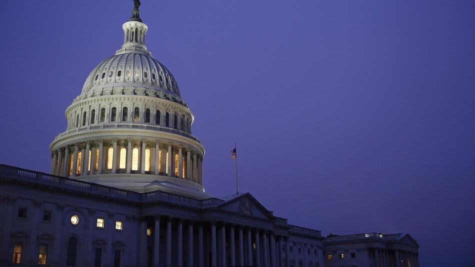 Amtsenthebungsverfahren, USA, Kapitol, Kuppel, Washington D.C.