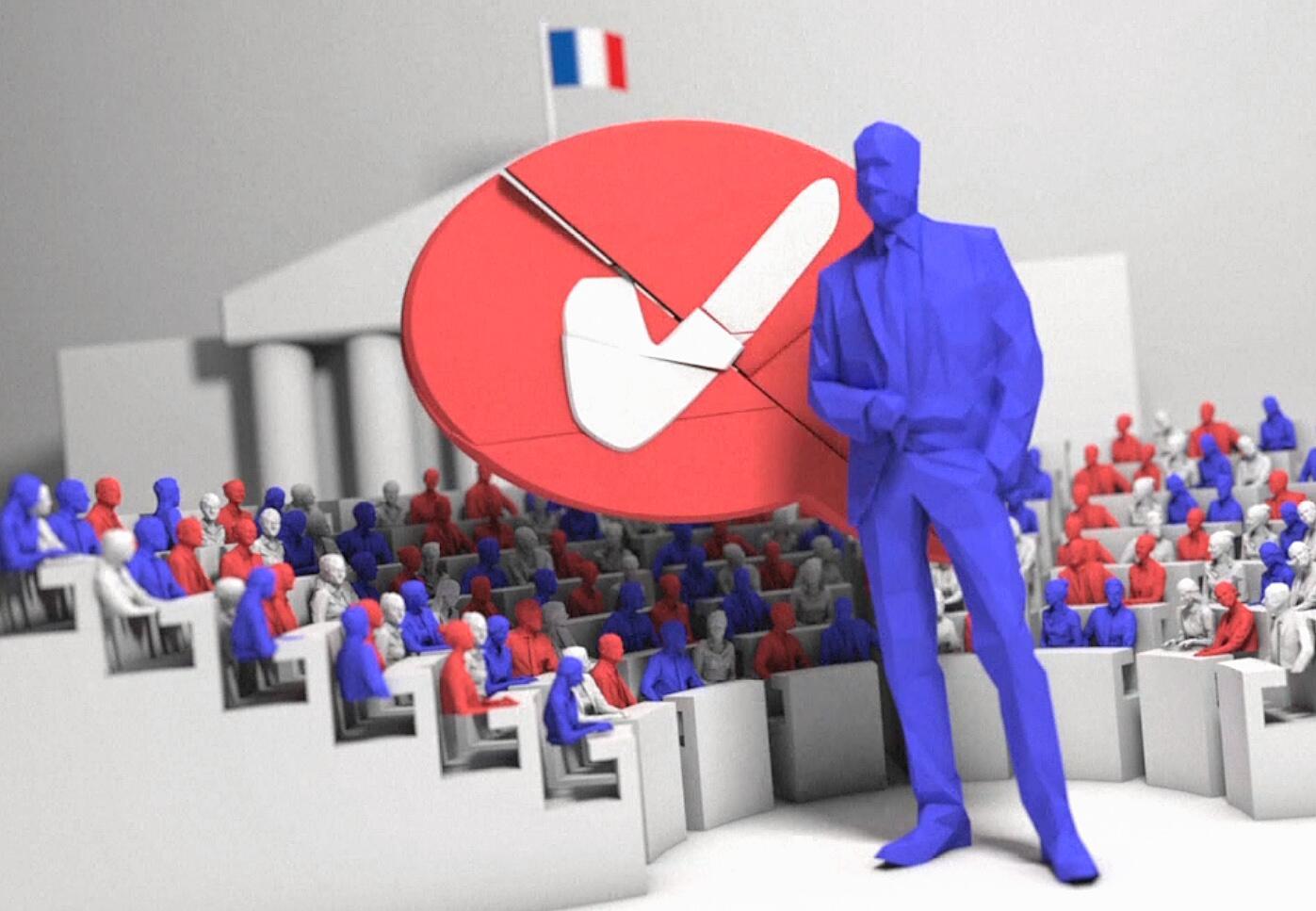 Bild zu Vidoografik: Frankreichs Präsidialsystem