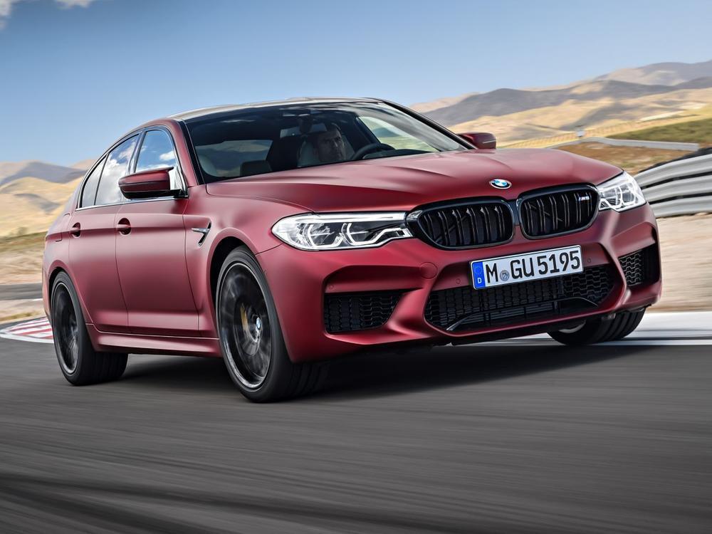 Bild zu BMW M5 First Edition