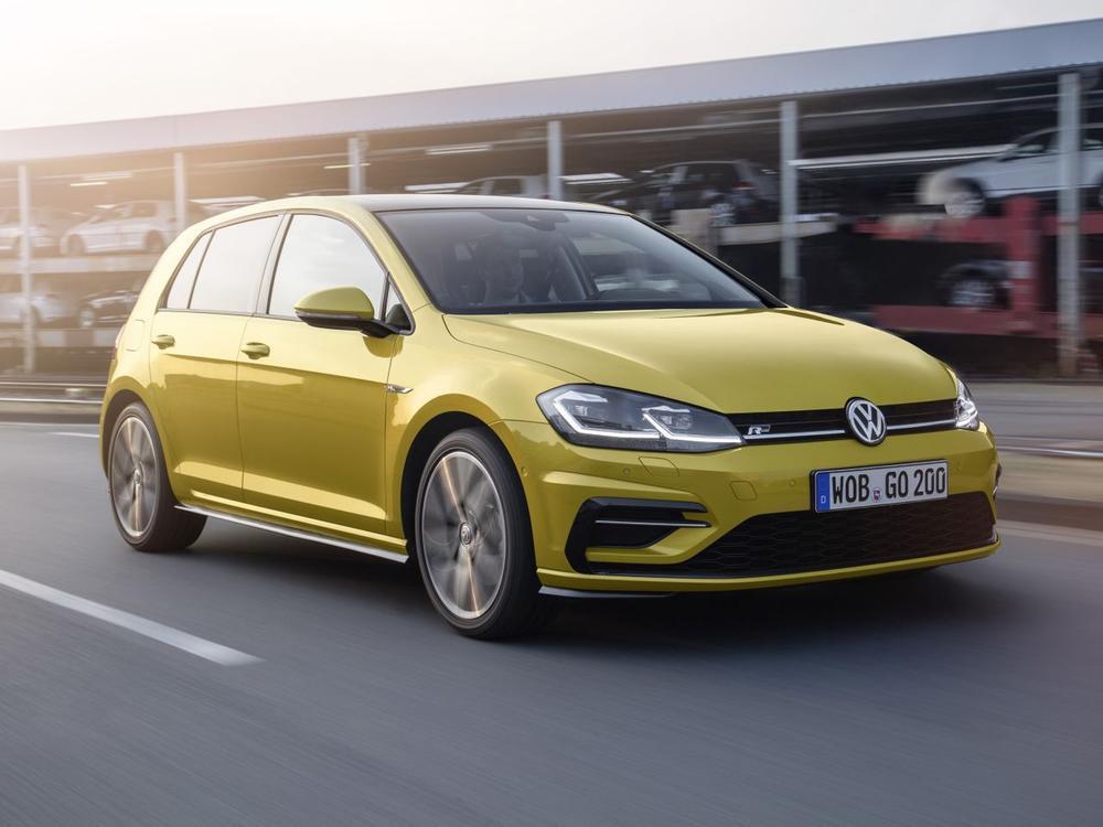 Bild zu Platz 1: VW Golf