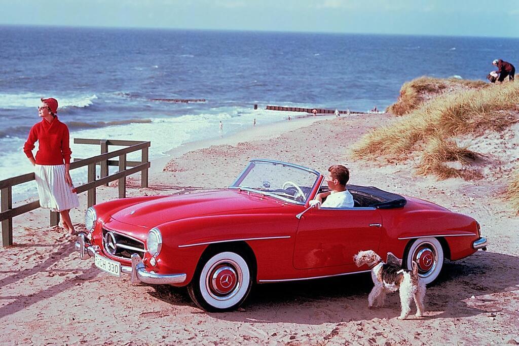 Happy Birthday, Mercedes SL-Klasse: Seit 60 Jahren sorgt das Cabrio für Fahrspaß