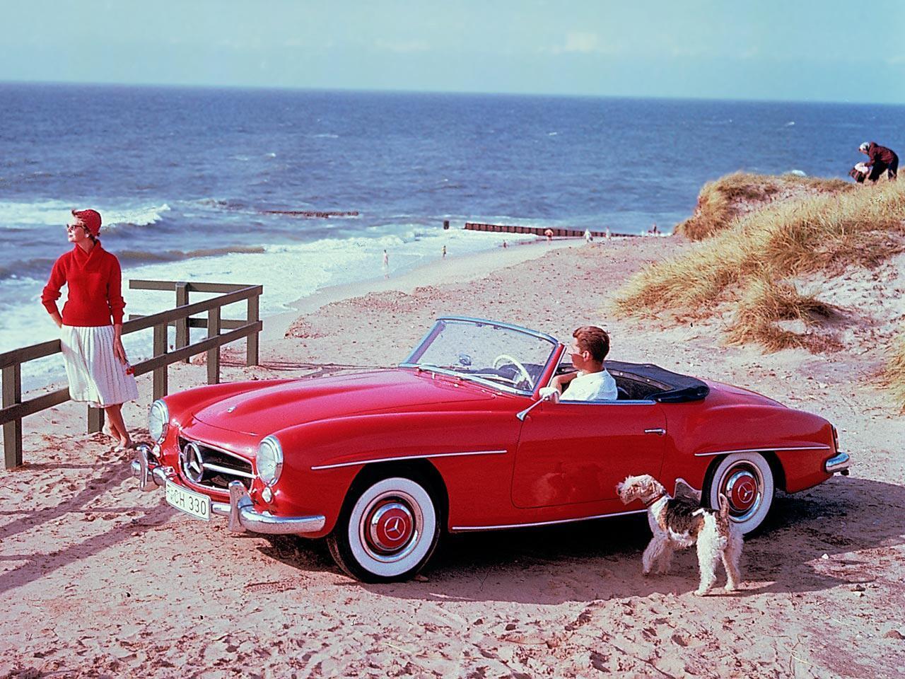 Bild zu Happy Birthday, Mercedes SL-Klasse: Seit 60 Jahren sorgt das Cabrio für Fahrspaß