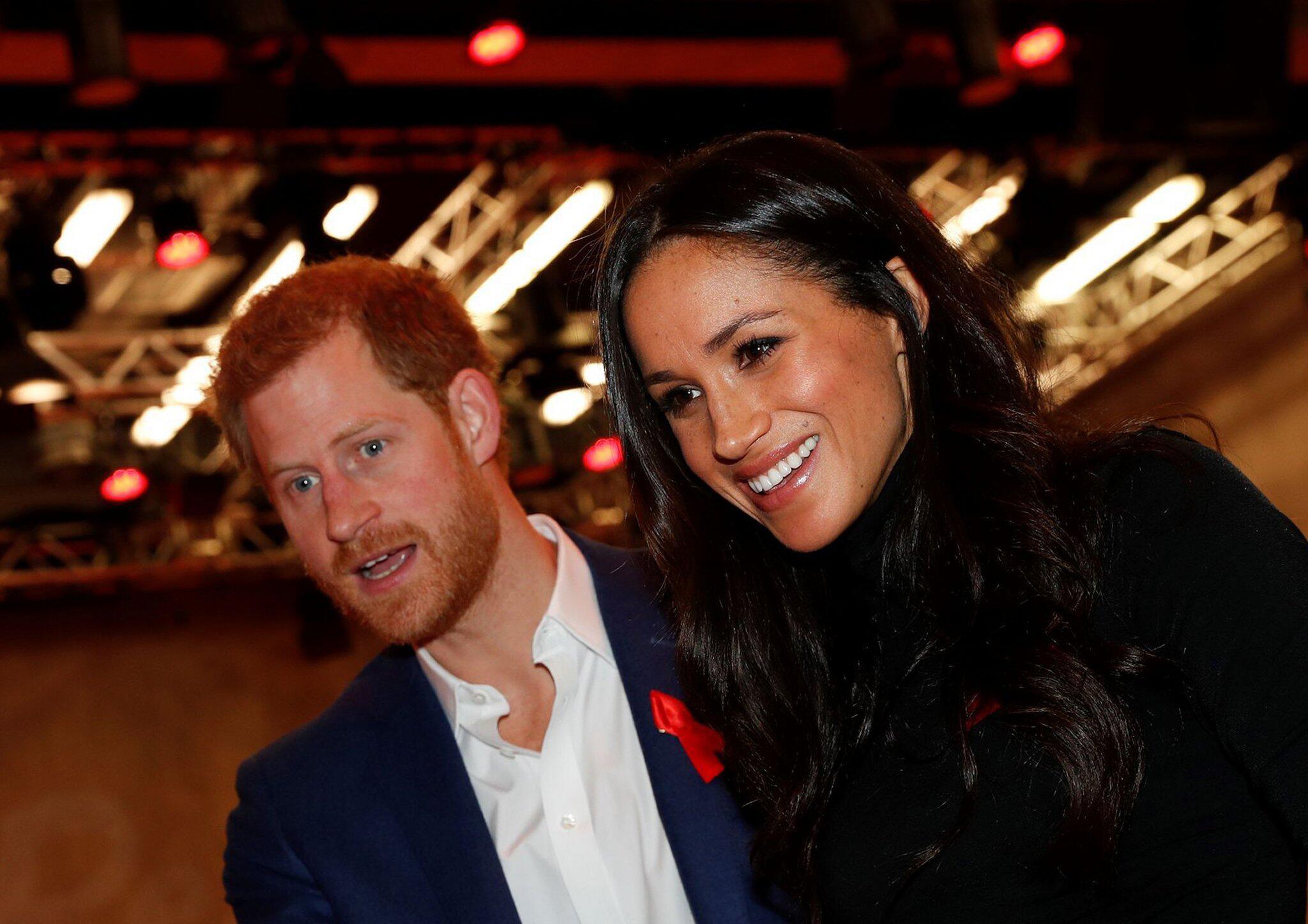 Bild zu Prinz Harry und Meghan Markle