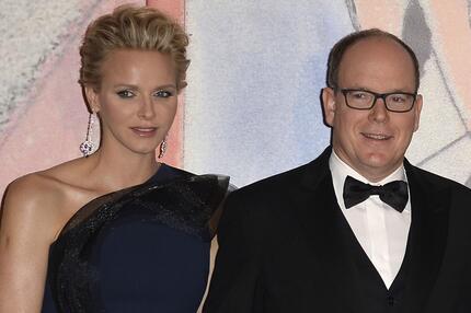 Fürstin Charène und Fürst Albert II. von Monaco