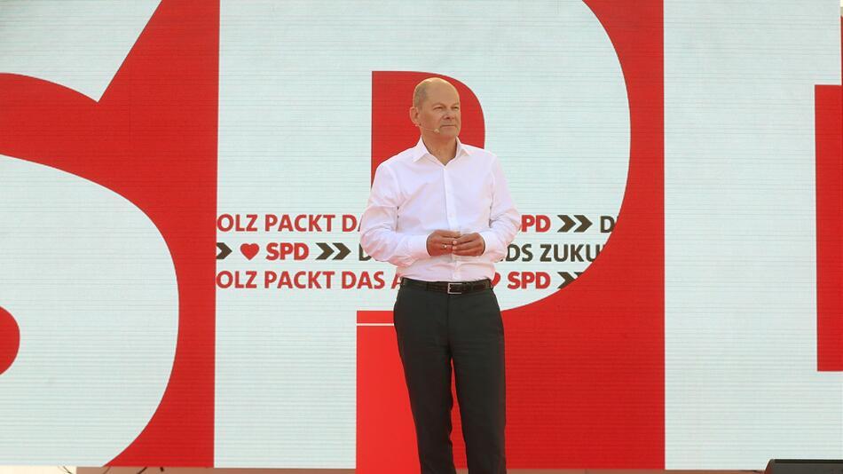 Wahlkampf SPD - Auftakt