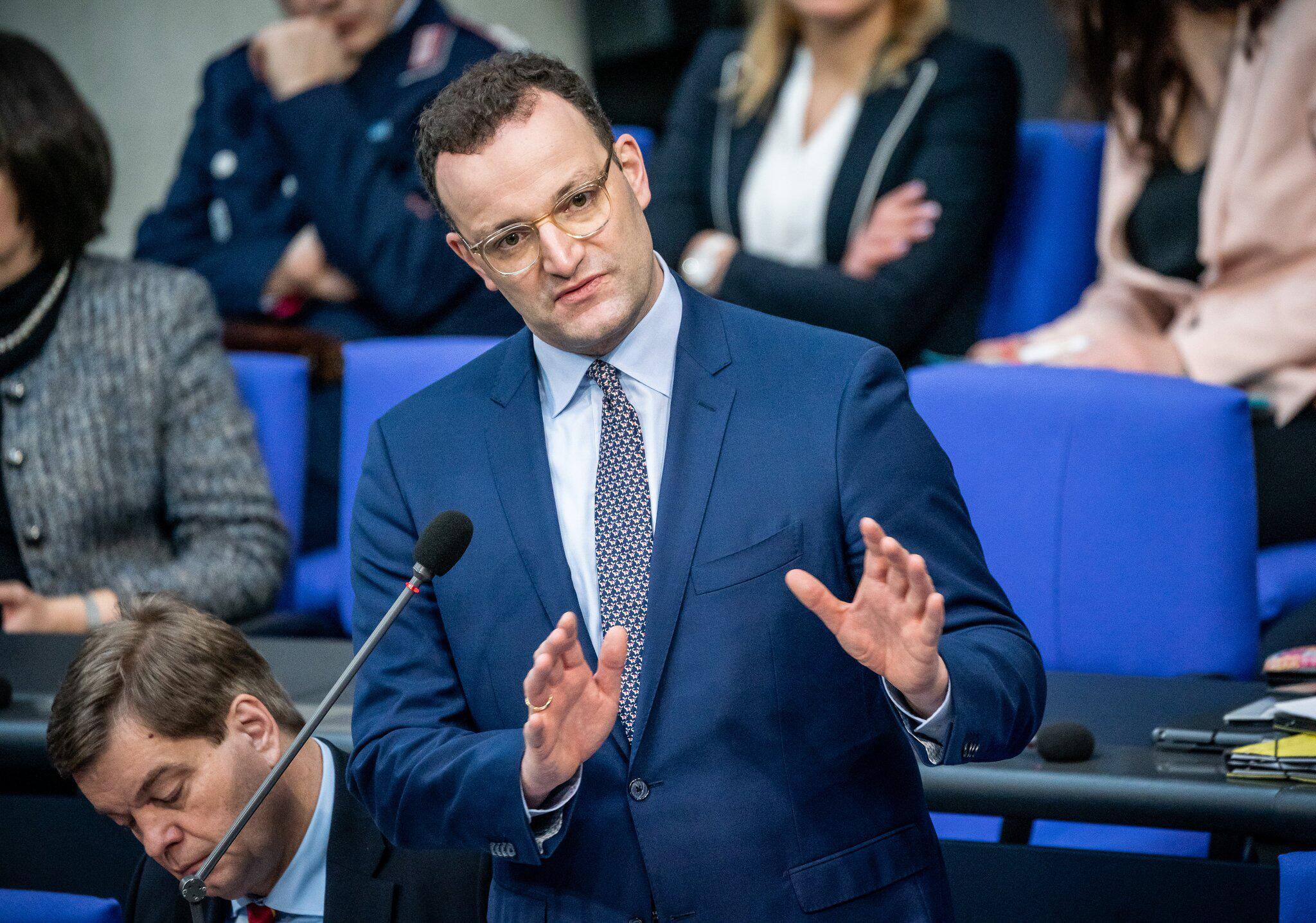 Bild zu Gesundheitsminister Jens Spahn