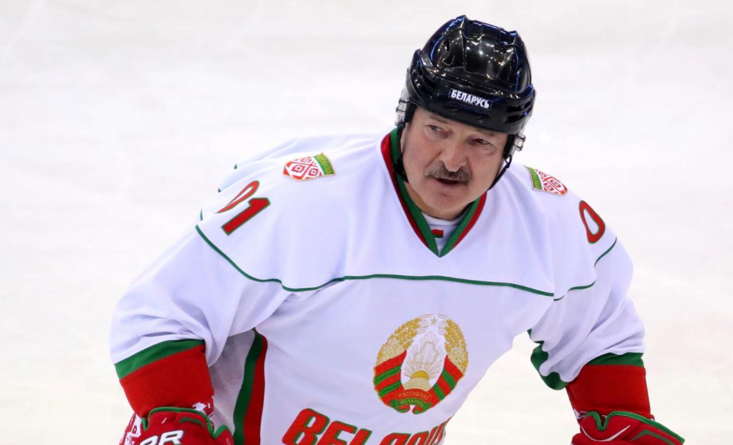 Bild zu Weißrussland, Alexander Lukaschenko, Präsident, Eishockey