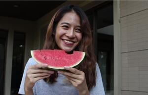 Darum sollten Sie das weiße Fruchtfleisch der Melone mitessen.