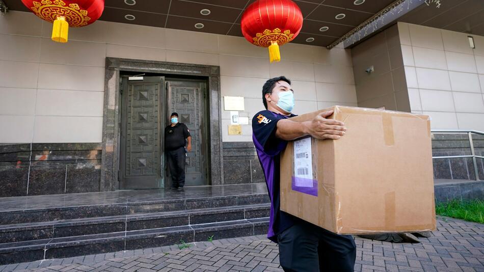 Schließung des chinesischen Konsulats in Houston verfügt