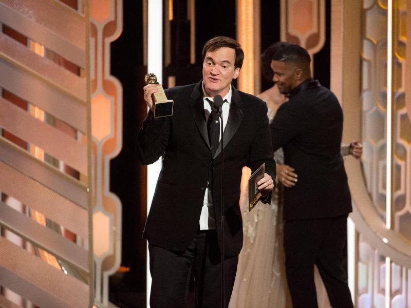 Bild zu Golden Globes - Quentin Tarantino