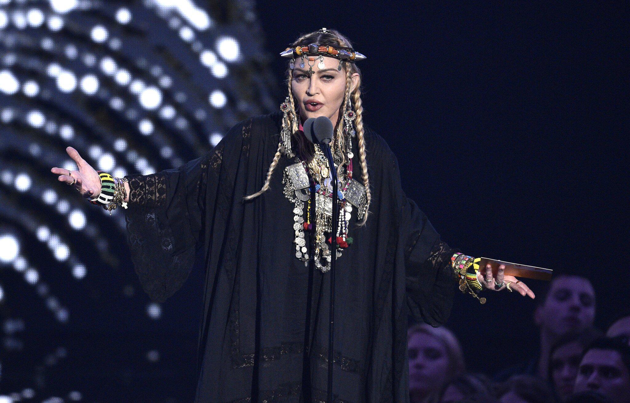 Bild zu US-Sängerin Madonna