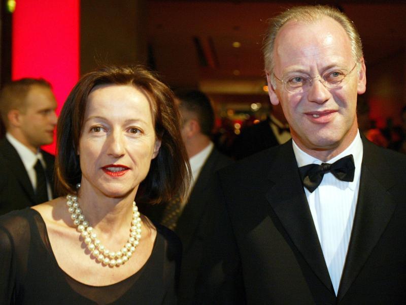 Bild zu Rudolf Scharping und Kristina Gräfin Pilati