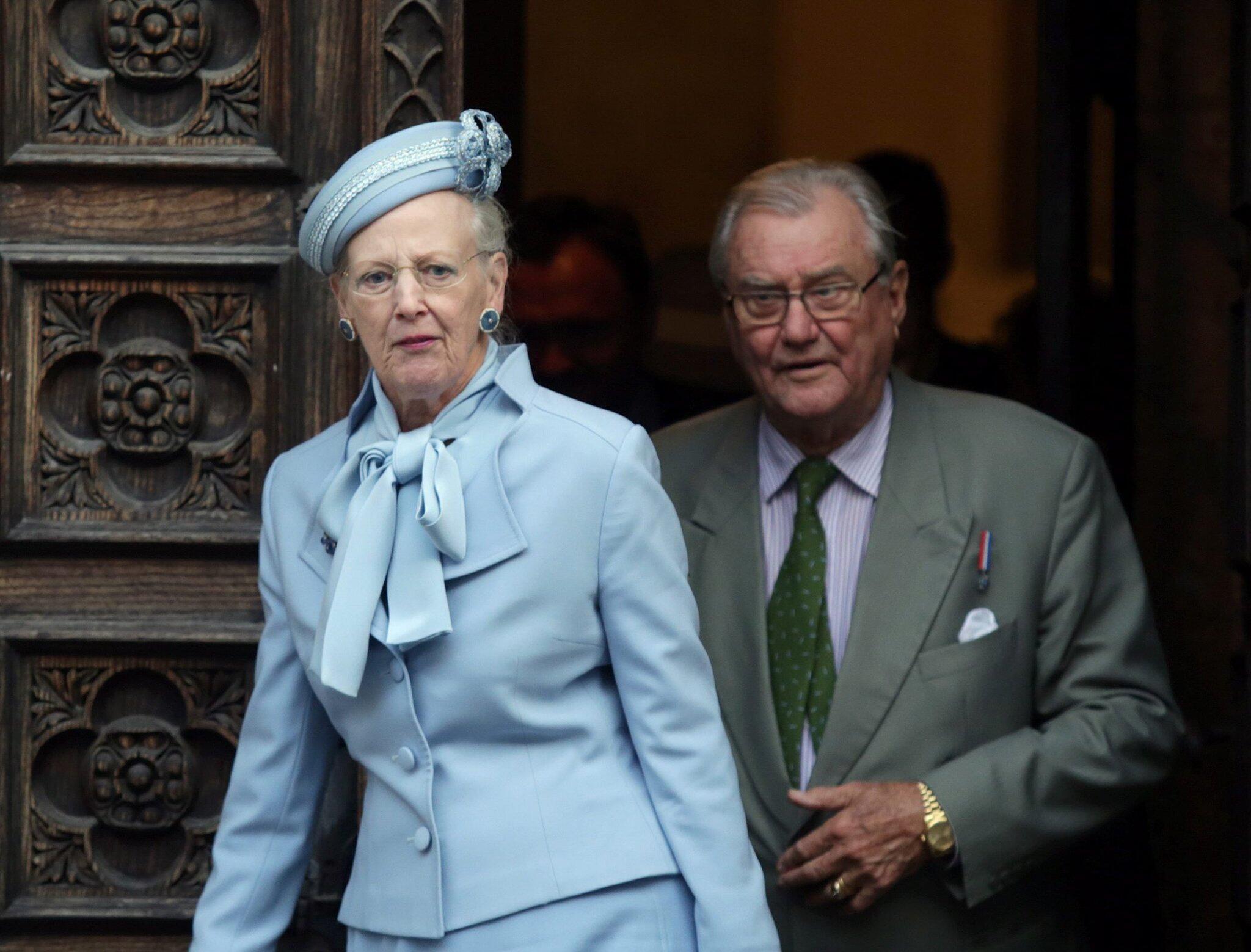 Bild zu Dänemarks Königin Margrethe und Prinz Henrik