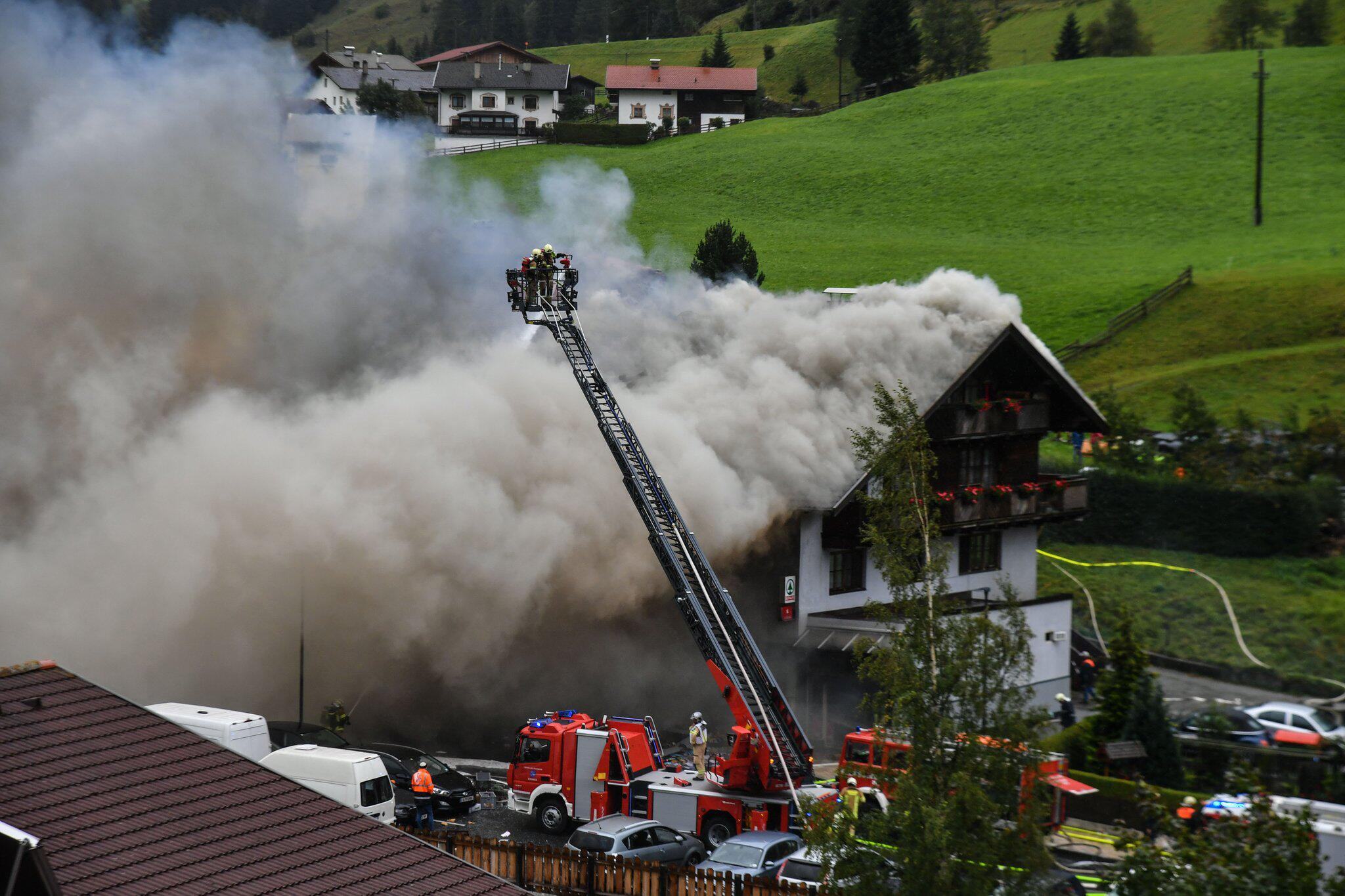 Bild zu Explosion in Tirol