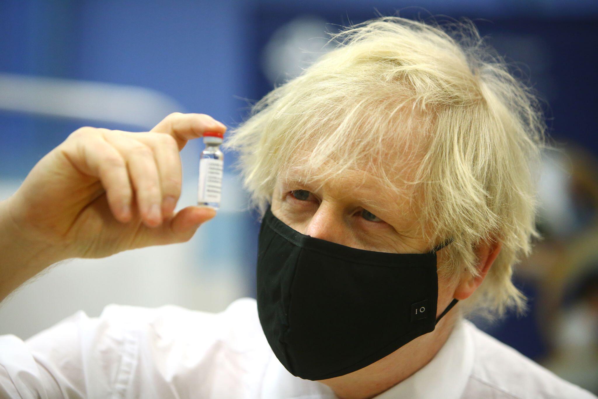 Bild zu Großbritanniens Premierminister Johnson