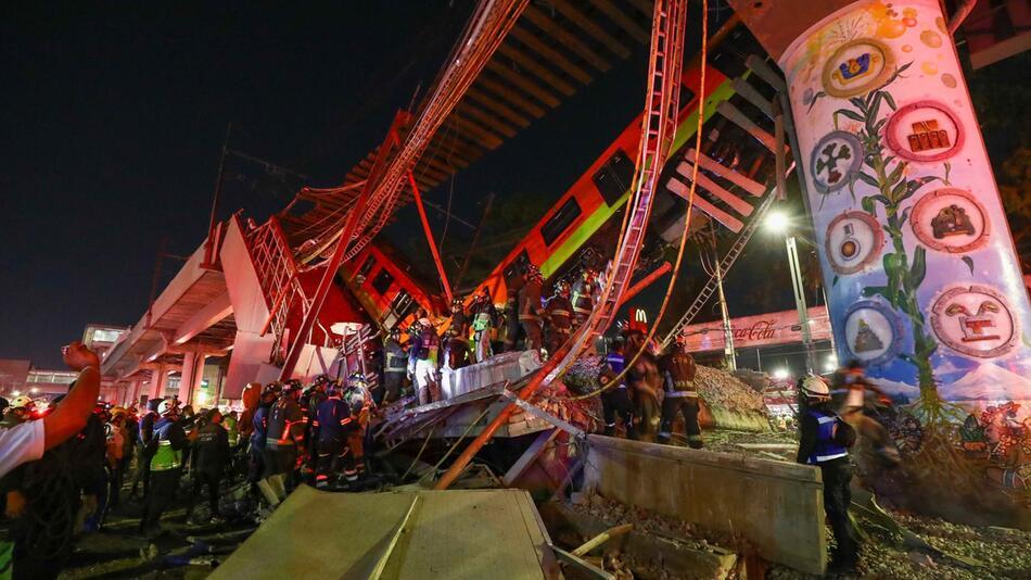 U-Bahn-Unglück in Mexiko