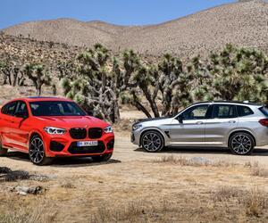 Kraftvolles Doppelpack: Der neue BMW X3 M und der neue BMW X4 M