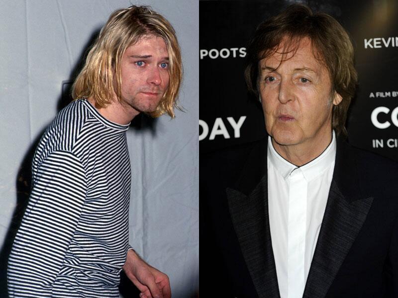Bild zu Paul McCartney und Nirvana