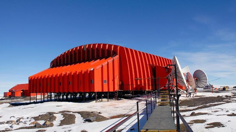 Antarktis-Stützpunkt Marambio