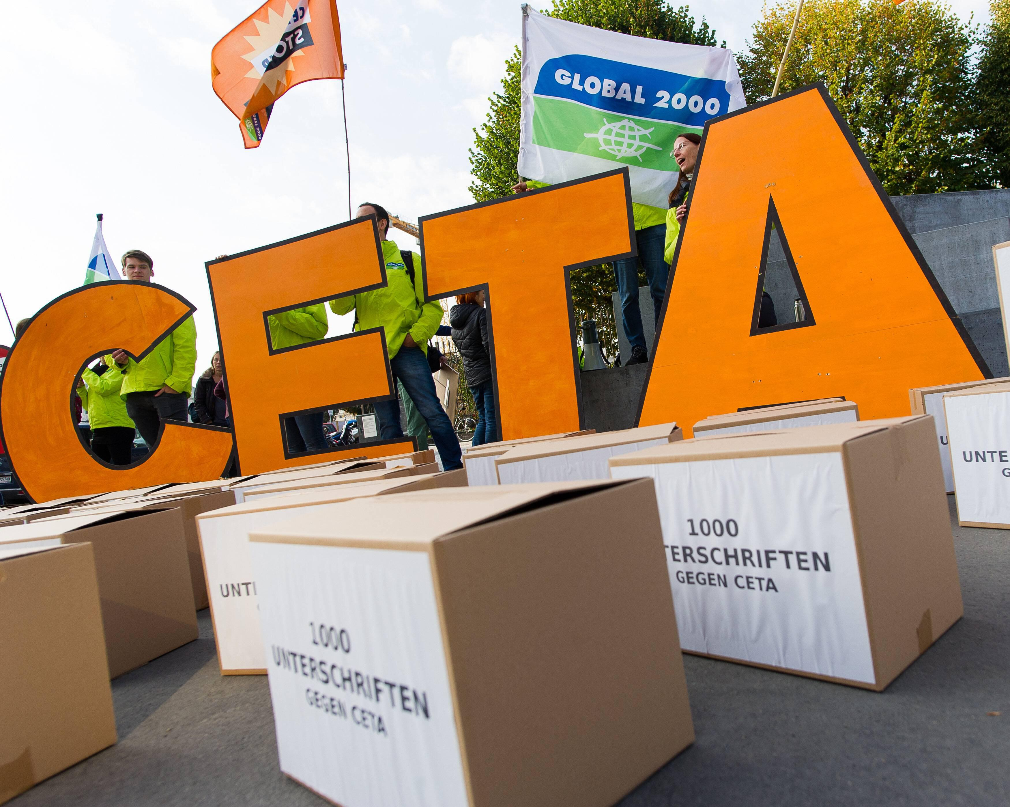 Bild zu CETA, TTIP, Handelsabkommen, Belgien