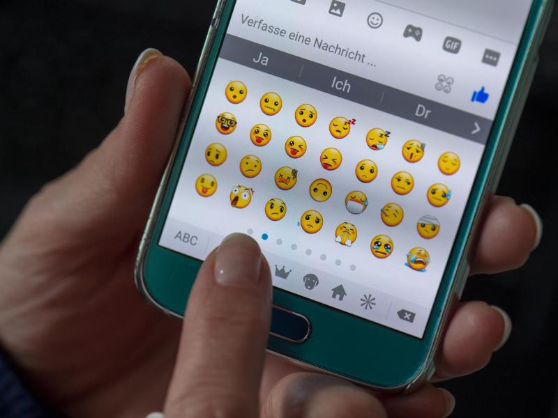 Bild zu Emojis auf dem Handy