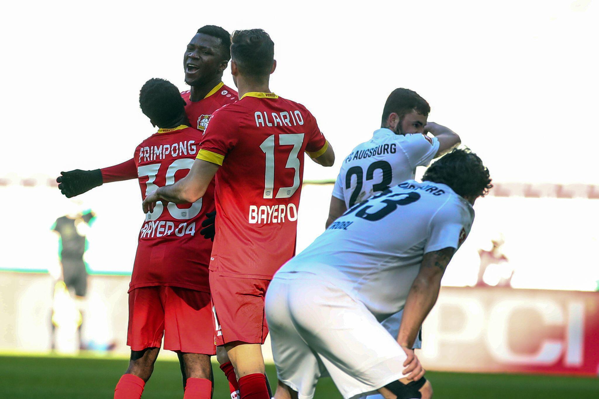Bild zu FC Augsburg - Bayer Leverkusen