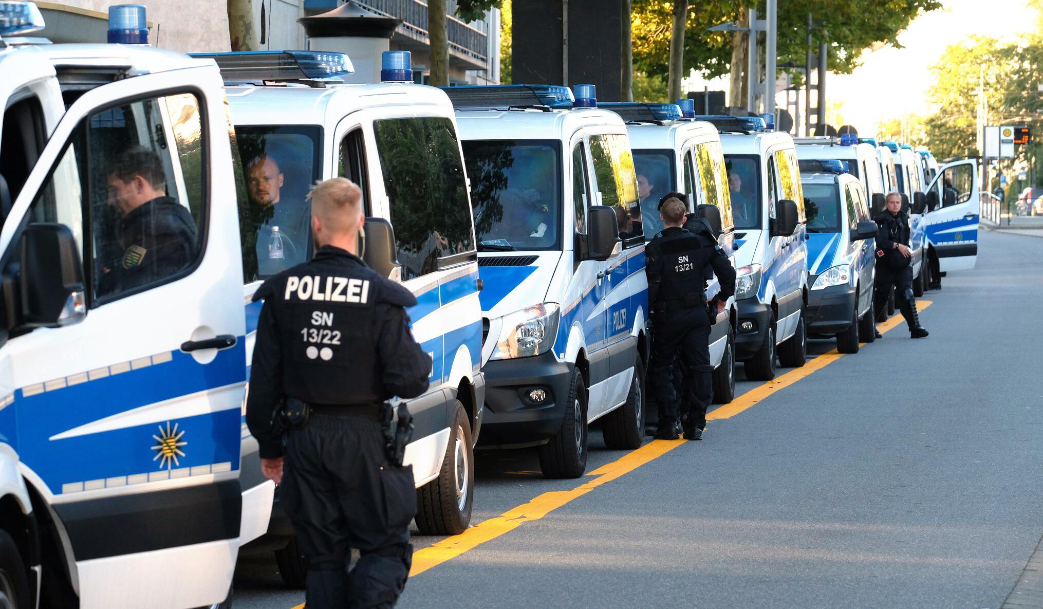 Bild zu Stadtfest Chemnitz nach Tötungsdelikt abgebrochen