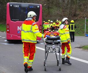 Zahlreiche Verletzte bei Bus-Unfall