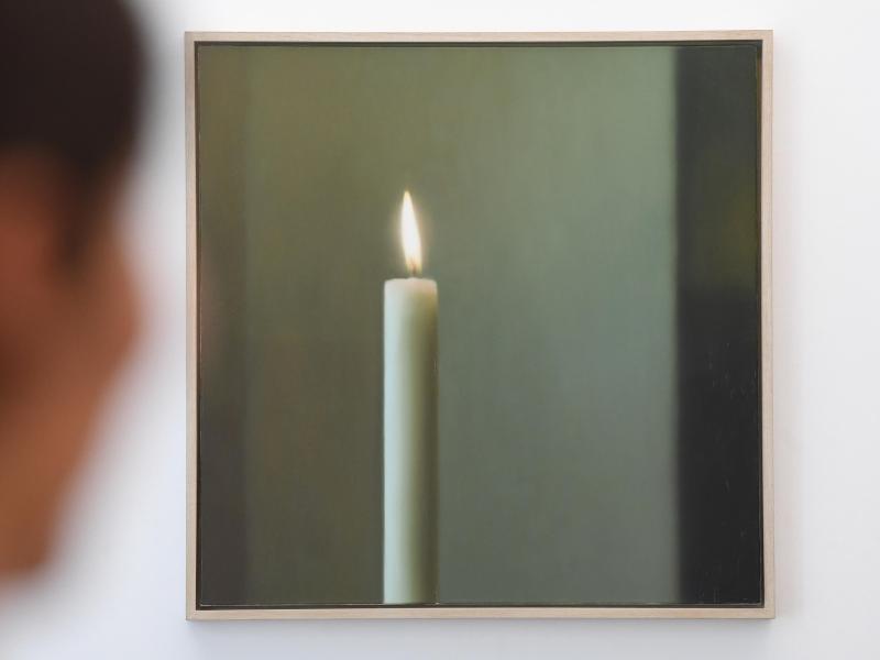 """Bild zu Ausstellung """"Die Kerze"""""""