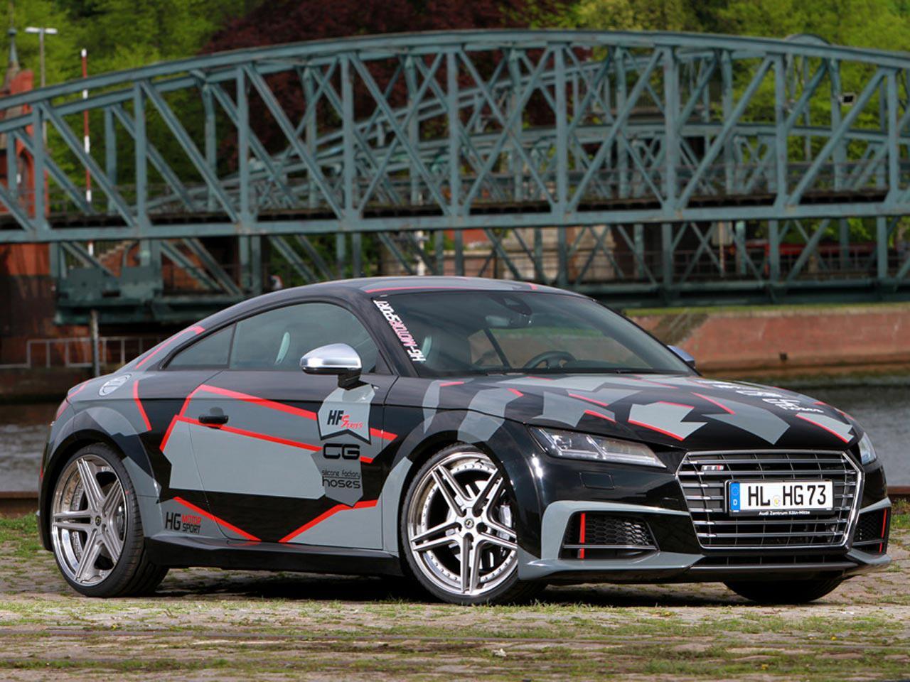Bild zu Audi TTS von HG-Motorsport