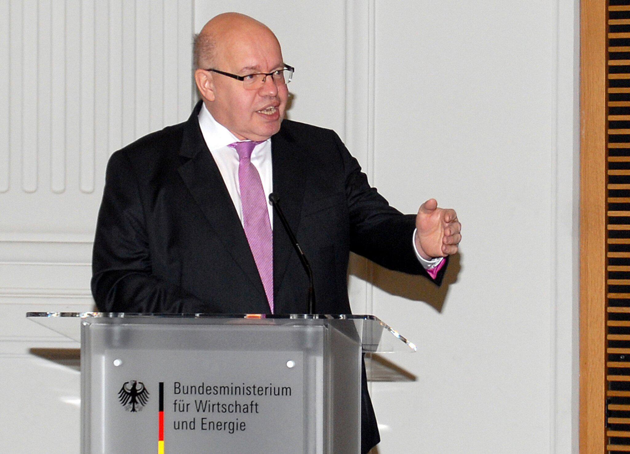 Bild zu Verabschiedung Matthias Machnig, Rede Peter Altmaier