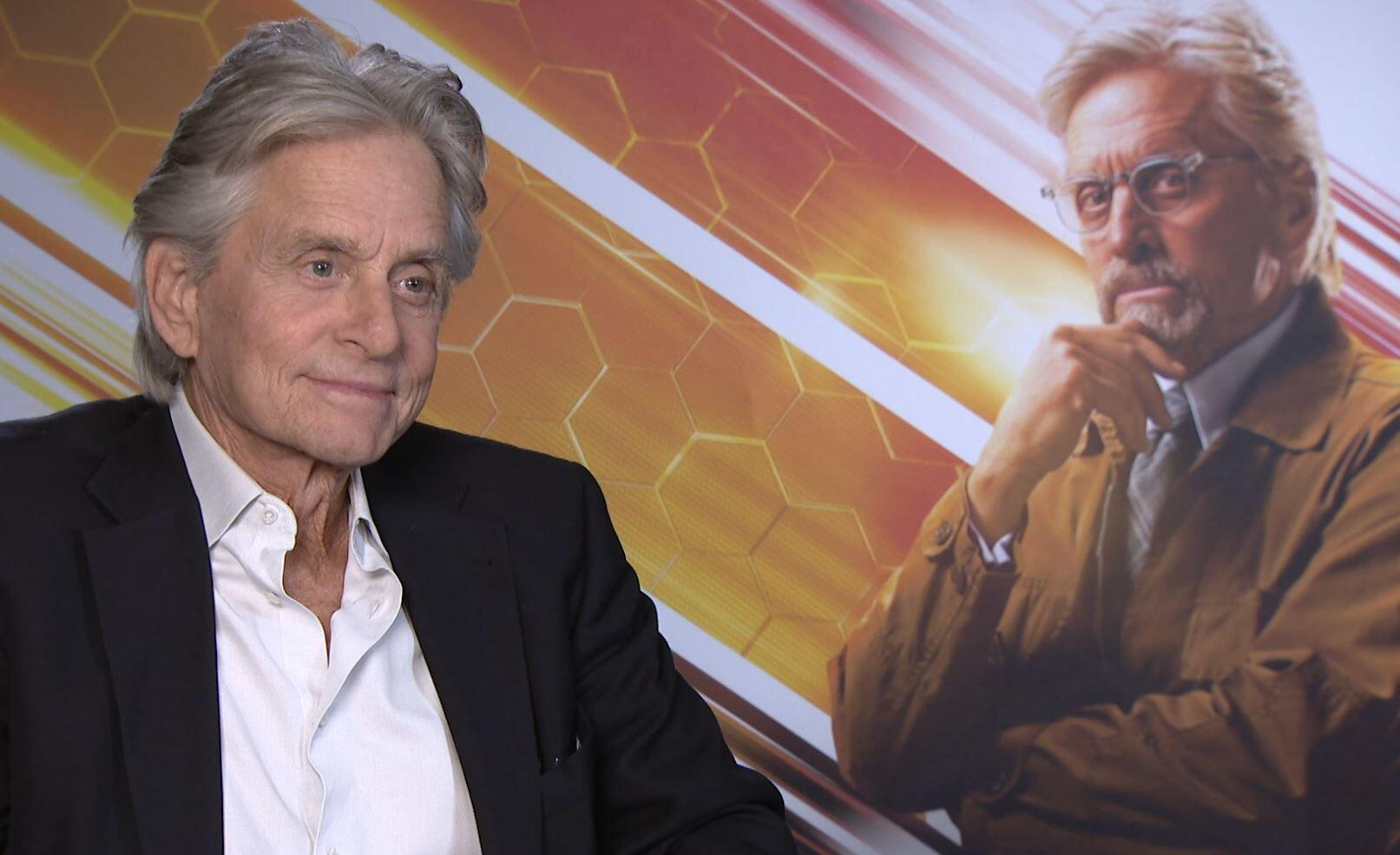 Bild zu Michael Douglas, Ant-Man and the Wasp, Interview, Marvel