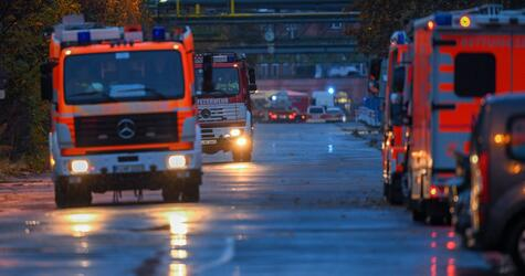 Chemieunfall in Frankfurter Industriepark