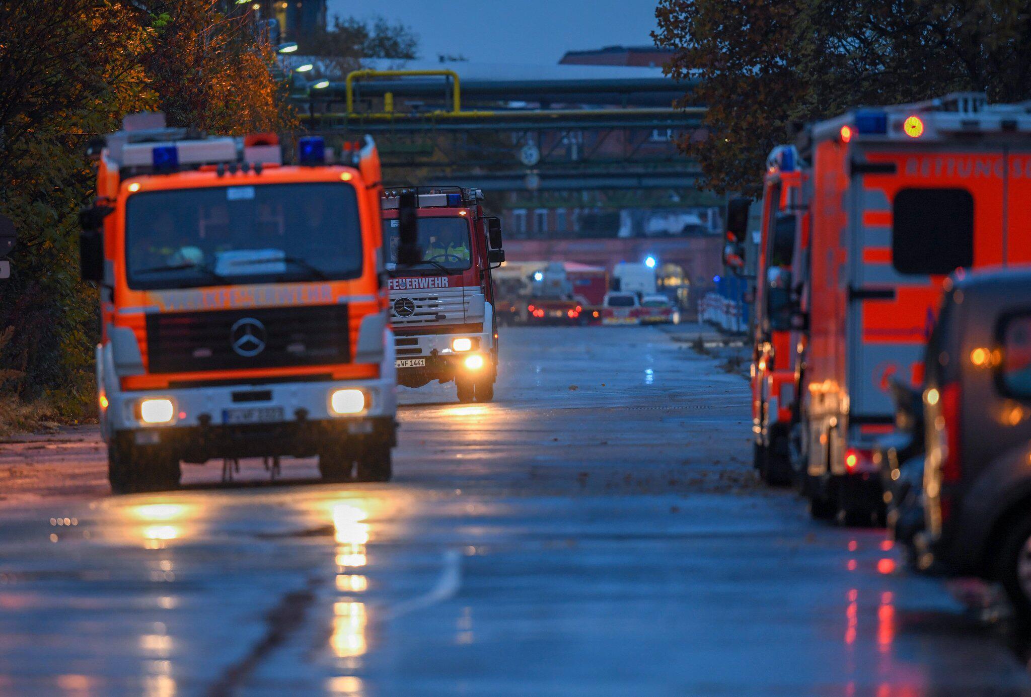 Bild zu Chemieunfall in Frankfurter Industriepark