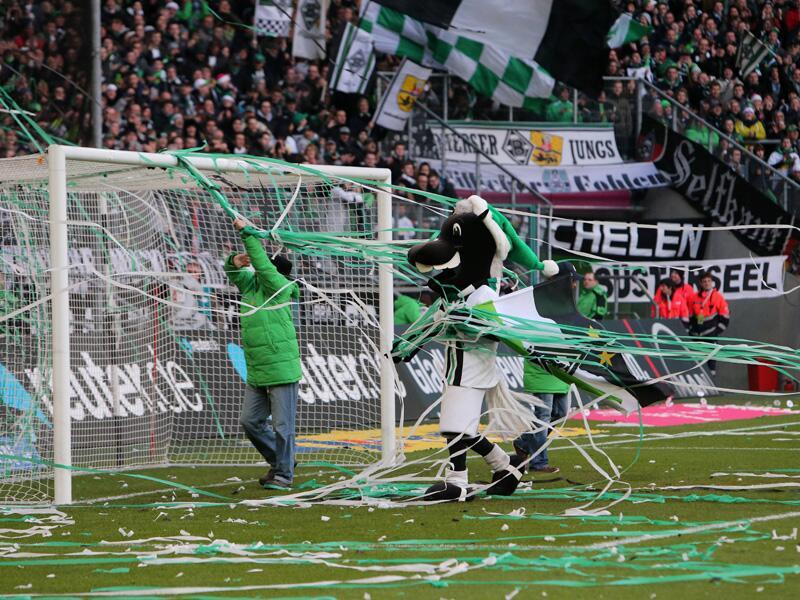 Bild zu Borussia Mönchengladbach gegen VfL Wolfsburg: schön aber unpraktisch