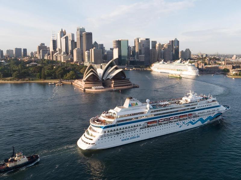 Bild zu Die Aida in Australien