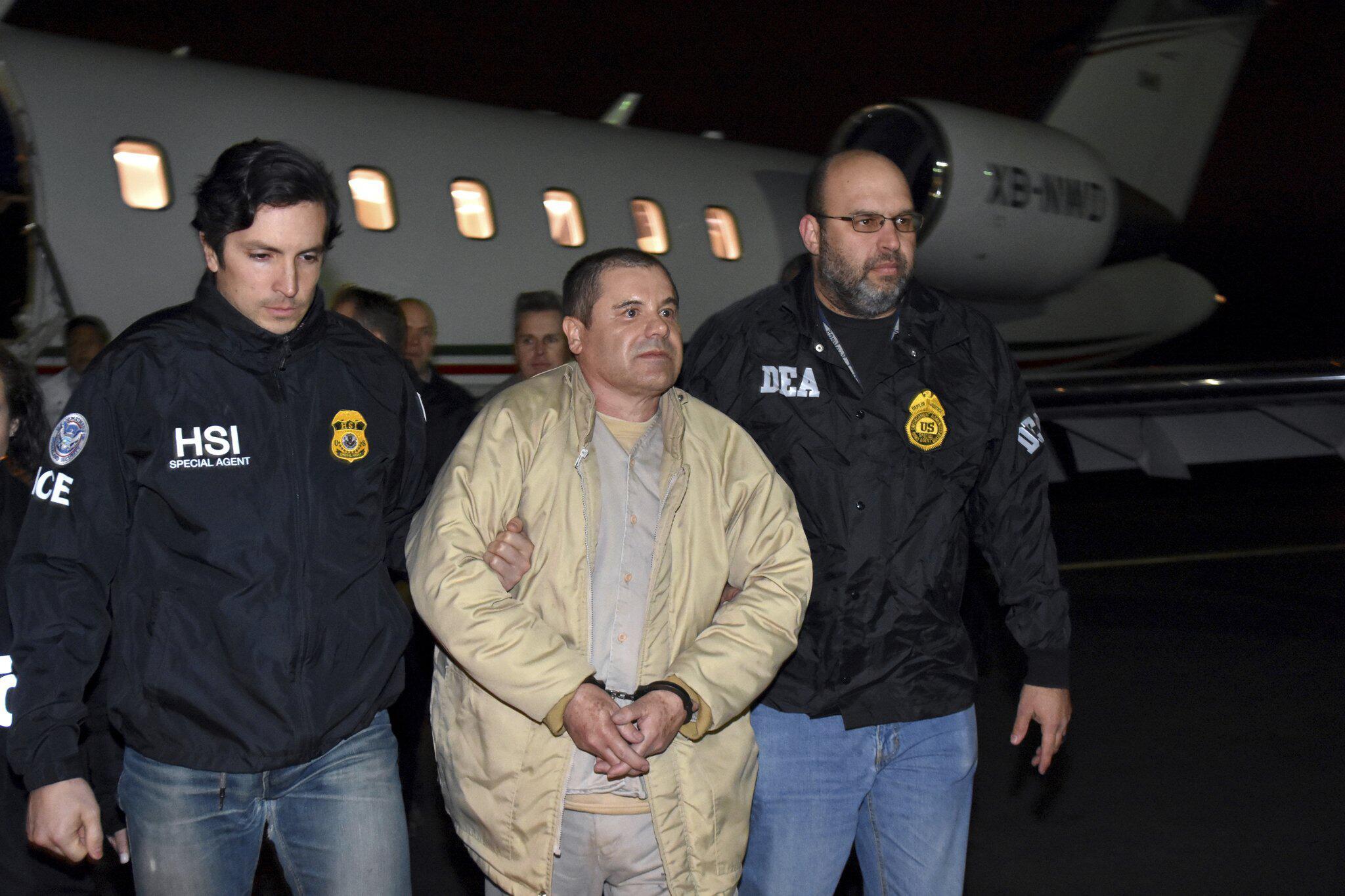 Bild zu Prozess gegen Joaquín «El Chapo» Guzmán