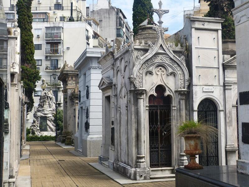 Bild zu Cementerio de la Recoleta