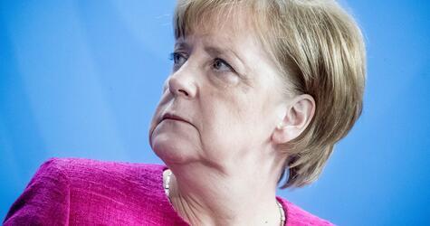 Chancellor Merkel meets Stoltenberg