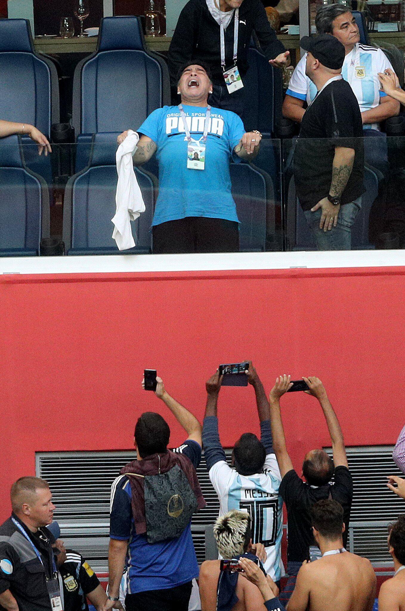Bild zu Diego Armando Maradona