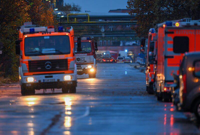 Bild zu Chemieunfall in Industriepark in Frankfurt