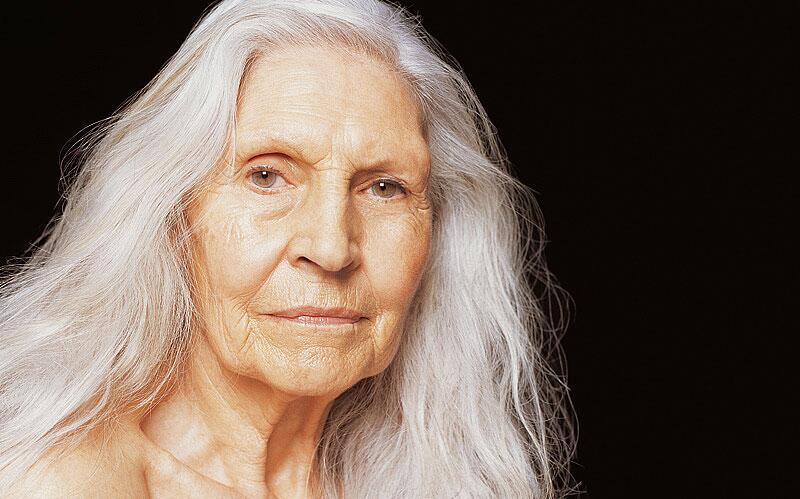 Bild zu alte Frau