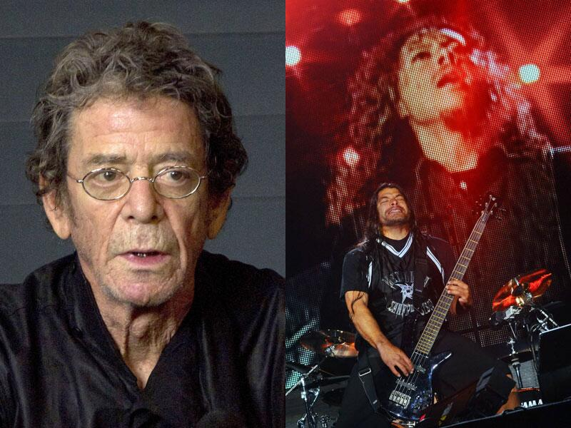 Bild zu Lou Reed und Metallica
